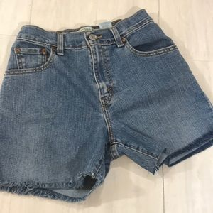 Levi's 550 Tailored cut off shorts size for